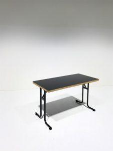 ワークテーブル黒