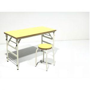 テーブル・スツール黄色