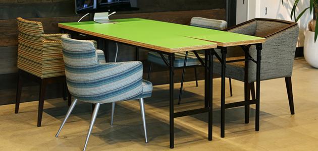 ミーティングテーブル - 舟形