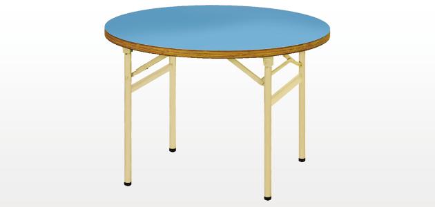 ミーティングテーブル - 丸形